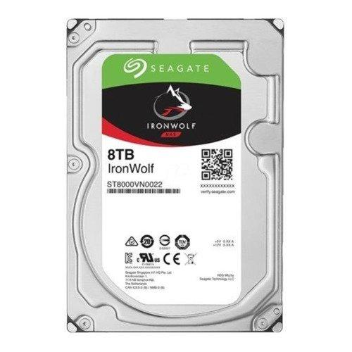 Dysk twardy Seagate IronWolf 3.5'' HDD 8TB 7200RPM SATA 6Gb/s 256MB | ST8000VN0022