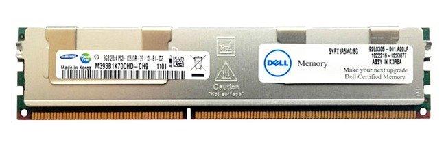 Pamięć RAM 1x 8GB DELL PowerEdge & Precision Workstation DDR3  1333MHz ECC REGISTERED DIMM   SNPX3R5MC/8G