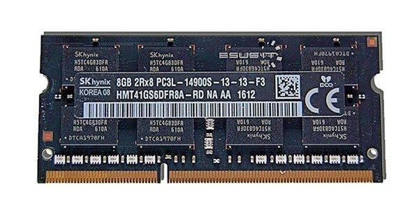 Pamięć RAM1x 8GBHynixSO-DIMMDDR31866MHzPC3-14900 HMT41GS6DFR8A-RD
