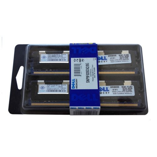 Pamięć RAM 2x 4GB DELL PowerEdge & Precision Workstation DDR2  667MHz ECC FULLY BUFFERED DIMM | SNP9F035CK2/8G